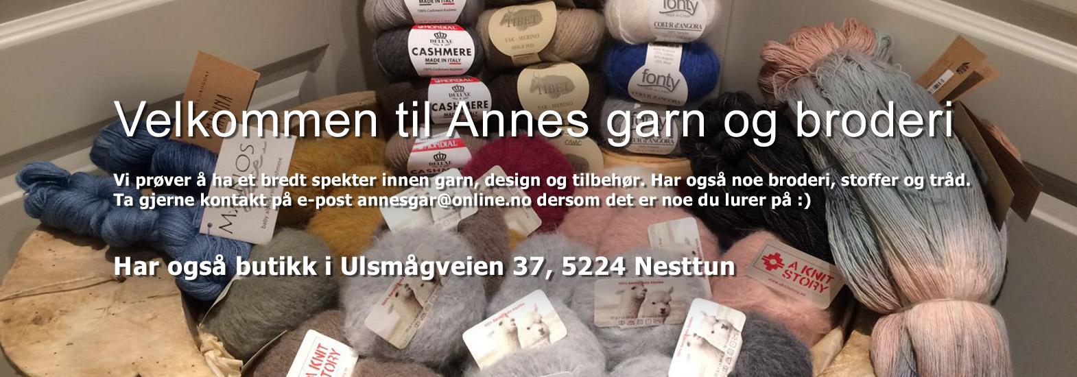Strikkeveske strikketøy korall Annes garn og broderi